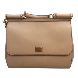 Dolce & Gabbana Sicily Bag in hot beige colour