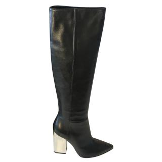 Emilio Pucci Over Knee Length Boots Size 40 NEW