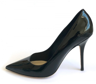 Dior Black Patent Pumps