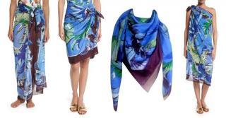 Pucci sarong / large square scarf