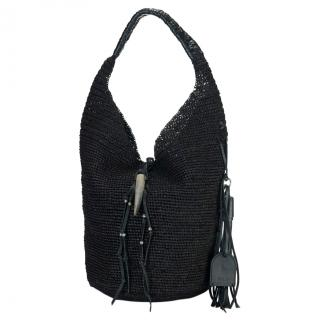 Polo Ralph Lauren Raffia Hobo Bag