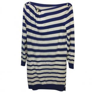 Louis Vuitton Knit Striped Dress