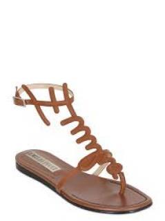 Emilio Pucci Leather Sandals
