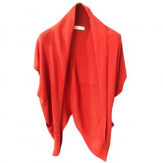 Nicole Farhi orange cardigan