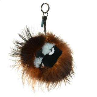 Fendi Rabbit, Mink & Fox Fur Archy Monster Bag Bug