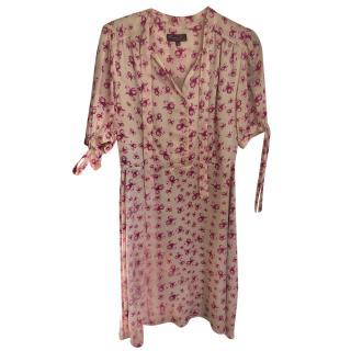 Project D Cream & Pink Floral Dress