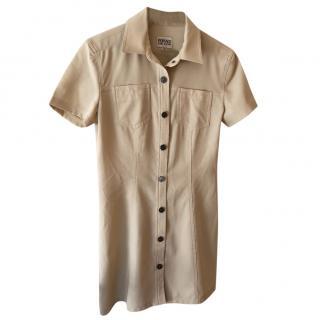 Versace Jeans Couture Mini Shirt Dress