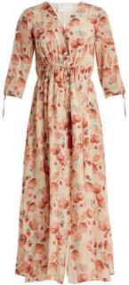 Athena Procopiou Silk 'Poppy in Love' 70's Dress