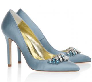 Freya Rose Chandelier Satin Shoes