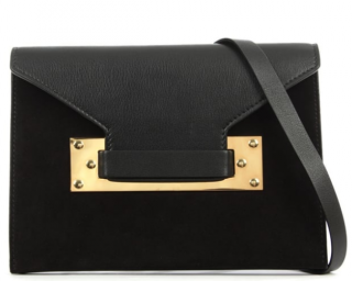 Sophie Hulme Milner Suede Envelope Clutch Bag