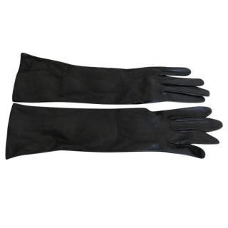 Mangano Long Leather Gloves