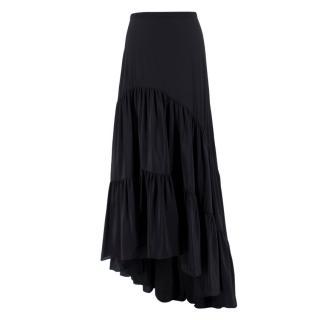 Kalmar Black Silk Maxi Skirt - Current Season