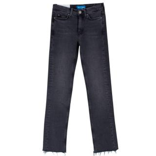 M.I.H. Grey Wash High Rise Jeans