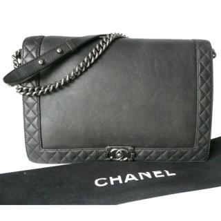 Chanel XL boy messenger bag