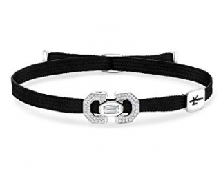 Nikos Koulis Black Yesterday Diamond Cord Bracelet
