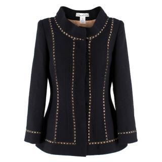 Oscar de la Renta Tailored Wool Jacket