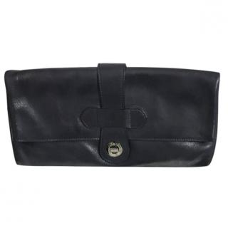 Loro Piana Leather Clutch Bag