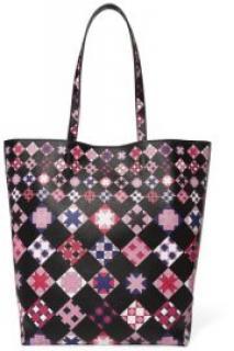 Emilio Pucci Printed Leather Tote Bag