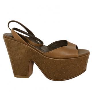 Bottega Veneta Platform Sandals