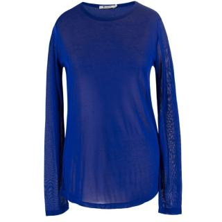 T by Alexander Wang Sheer Knit Top