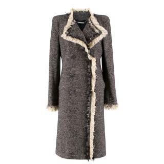 Alexander McQueen Tweed Coat