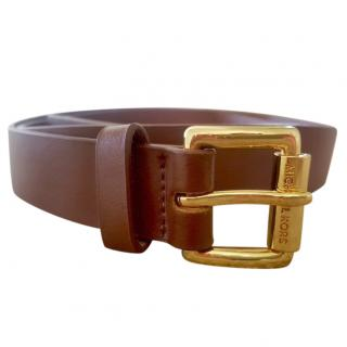 Michael Kors Tan Leather Belt