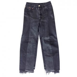 Vetements x Levis Dark Grey Jeans