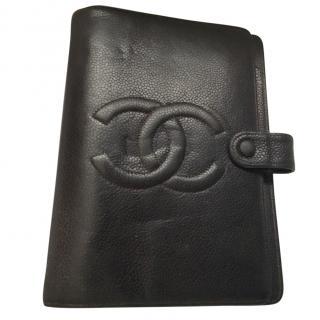 Chanel Caviar Leather Filofax Organiser