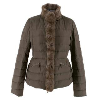 Moncler Brown Puffer Jacket