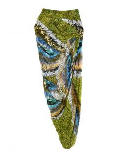 Peter Pilotto Pin-tucked Gathered Skirt