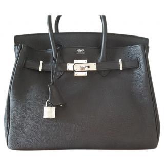 Hermes Birkin 30cm Noir in Togo Leather
