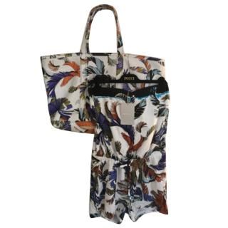 Emilio Pucci Beach Bag with Matching Romper Suit