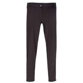 Lanvin Brown Stretch Trousers