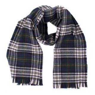 SA(Natalie Chan) Saint Laurent Wool Checked Scarf