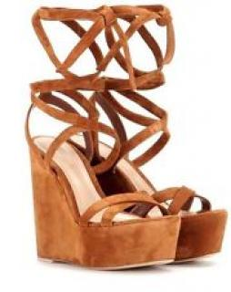 Gianvito Rossi Camsel Wedge Platform Sandals