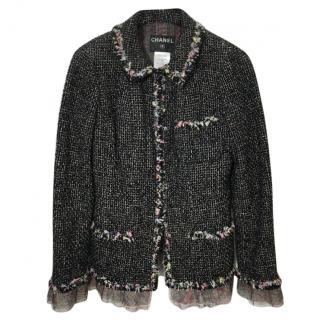 Chanel New York 57th Street Silk Tweed Jacket