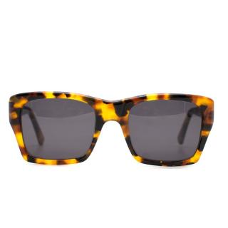 Kirk Originals Square Tortoiseshell Sunglasses