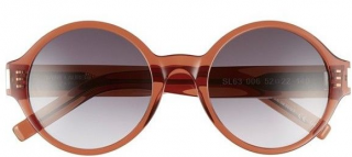 Saint Laurent SL63 006 Round Sunglasses