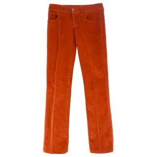 Gucci corduroy flare pants