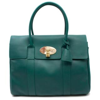 Mulberry Green Leather Bayswater Bag