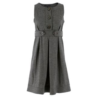 Gucci Wool and Cashmere A-Line Dress