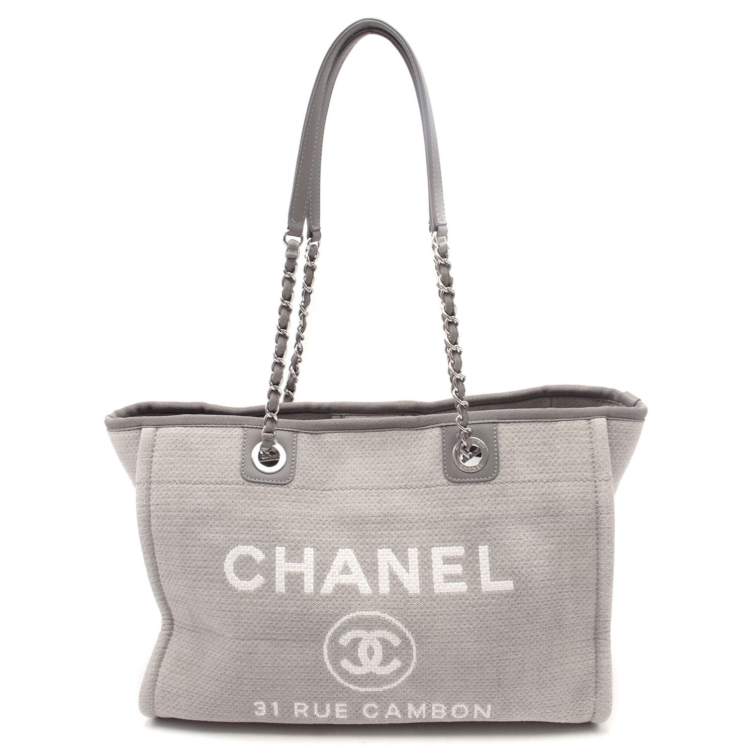e0897c478eb6 Chanel Deauville Canvas Tote | HEWI London