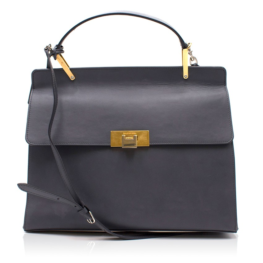 Balenciaga Le Dix Cartable Flap Satchel Bag