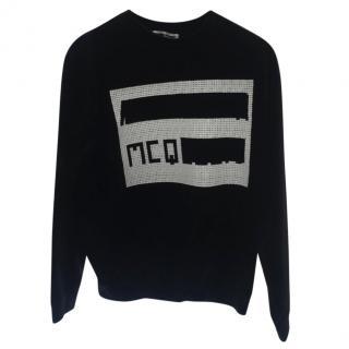 Alexander McQueen Logo Printed Sweatshirt