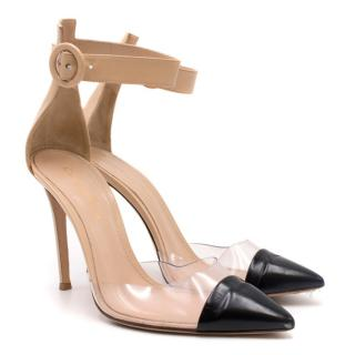 Gianvito Rossi 'Anais' Cap Toe Sandals