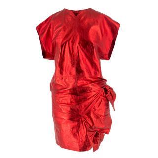 Isabel Marant 'Doll' Metallic Skirt and Top Set