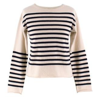 Celine Cashmere Striped Jumper