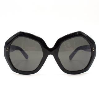 Linda Farrow Hexagon Sunglasses