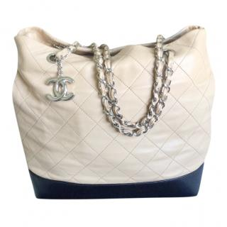Chanel Quilted Shopper Bag