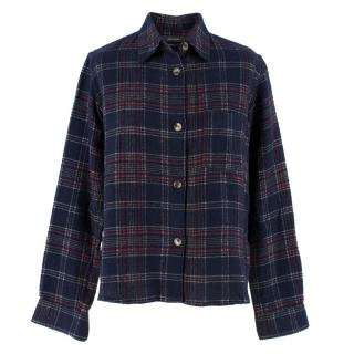 Isabel Marant Wool Tartan Shirt